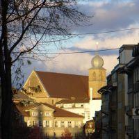 St-Michel depuis lAvenue de la Gare, Фрейбург