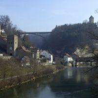 Befestigung in Fribourgs Altstadt, Фрейбург