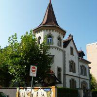 Graffiti à Fribourg vers lécole Sainte Croix, Фрейбург