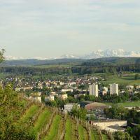 Blick auf Winterthur Seen vom Lindberg, Винтертур
