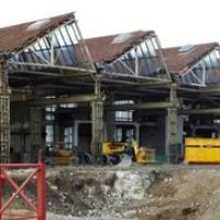Winterthur Baustelle Abriss Panorama  (3th March 2008), Винтертур