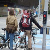 Sinal na ciclovia? Fantástico! (junho de 2009), Мальмё