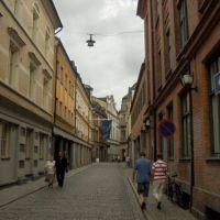narrow street, Мальмё