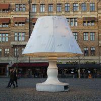Floor lamp on Lilla torg, Malmö, Мальмё