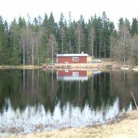 Huset ved søen i Sverige, Борас