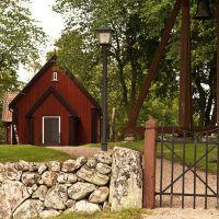 Slädene kyrka, Борас