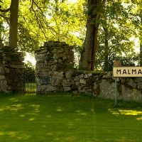 Malma gamla kyrkogård, Борас