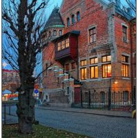 Allégården. Folk library. Gothenburg, Гетеборг