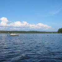 Shoal in Lake Båven, Еребру