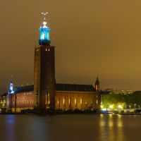 StockHolm City Hall by Night, Содерталье