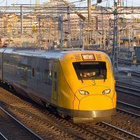 Arlanda Express train / Stockholm, Sweden, Содерталье