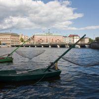 Stockholm, fishing nets, Содерталье