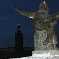 Evert Taube monument., Содерталье