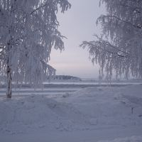 Cold day in Luleå, Лулеа