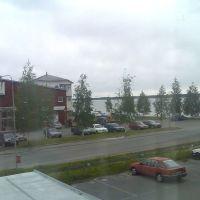 View from office in Södra hamn, Лулеа
