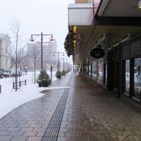 Тротуар с подогревом, Лулеа