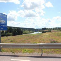 on the road Sarna, Малунг