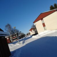 Vinterdag på Storbygärdet, Малунг