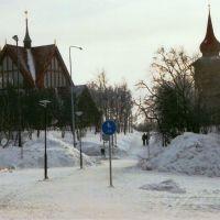 Parque alrededor de la iglesia, Кируна