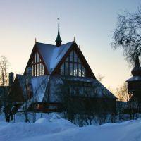 Kiruna Kyrka / Εκκλησία της Κίρουνα, Кируна
