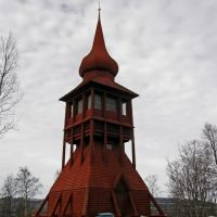 Bell Tower, Kiruna Church, Кируна