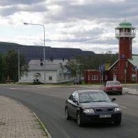 Kiruna - old fire brigade station, Кируна