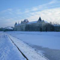 Zgrada Suda, zimi, Зренянин
