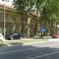 Novi Sad, ulica Futoška,  kasarna Arčibald Rajs, Нови-Сад