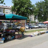 Novi Sad, pijaca, ulica Bulevar Oslobođenja, Нови-Сад