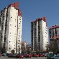 Tri kule na naselju Liman 4, Нови-Сад
