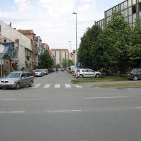 Novi Sad, ulica Branimira Ćosića, Нови-Сад