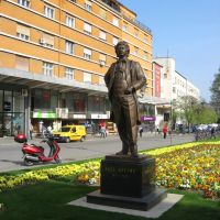 Novi Sad - Laza Kostić 1841-1910 (Vajar Stevan Filipović 2011.), Нови-Сад
