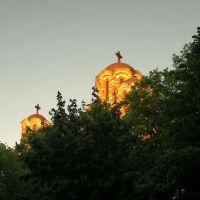 Predvecerje u Beogradu-crkva Svetog Marka, Белград