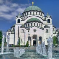 Hram Sv. Save - Beograd / Cathedral of St. Sava - Belgrade, Белград