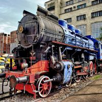 Blue locomotive, Белград