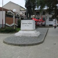 Kragujevac, spomenik Joakim Vujić 1772-1847, Крагуевач