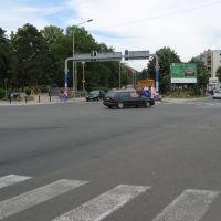 Kragujevac, bulevar Kraljice Marije ispred parka, Крагуевач
