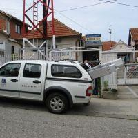 Kragujevac, ulica Milica Srecković, antena, Radio 34, Крагуевач