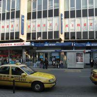 Kragujevac, Robna Kuća Kinezi i bus stanica Ured II, Крагуевач