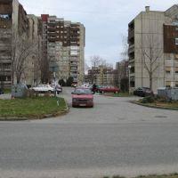 Kragujevac, ulica Atinska, naselje Aerodrom, Крагуевач