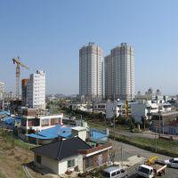 Blick vom Palma-san, View from Palma-san, Кунсан