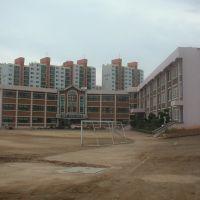 Buildings of Poongmoon Elementary school in Kunsan city, Кунсан