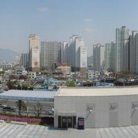 view to Masan fom 3.15 art center, Масан