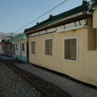 Railroad and houses, Чинхэ