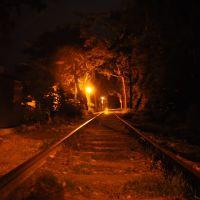 Train Rails in Jinhae, Чинхэ