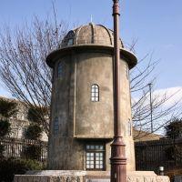 鳥居松沈殿池調圧槽モニュメント, Касугаи
