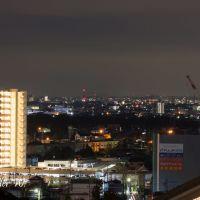 Okazaki southwest, night, Оказаки