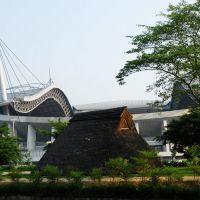 八柱神社より豊田スタジアムを望む, Тойота