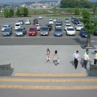 Toyota Stadium parking area, Toyota-shi, Aichi-ken, Japan, Тойота