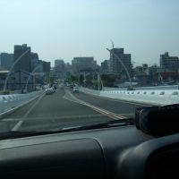 Toyota bridge, Toyota-shi, Aichi-ken, Japan, Тойота